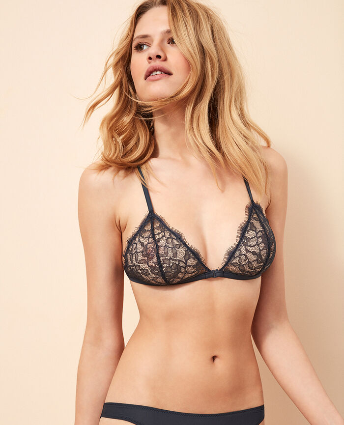 Soft cup bra Kinetic grey Taylor