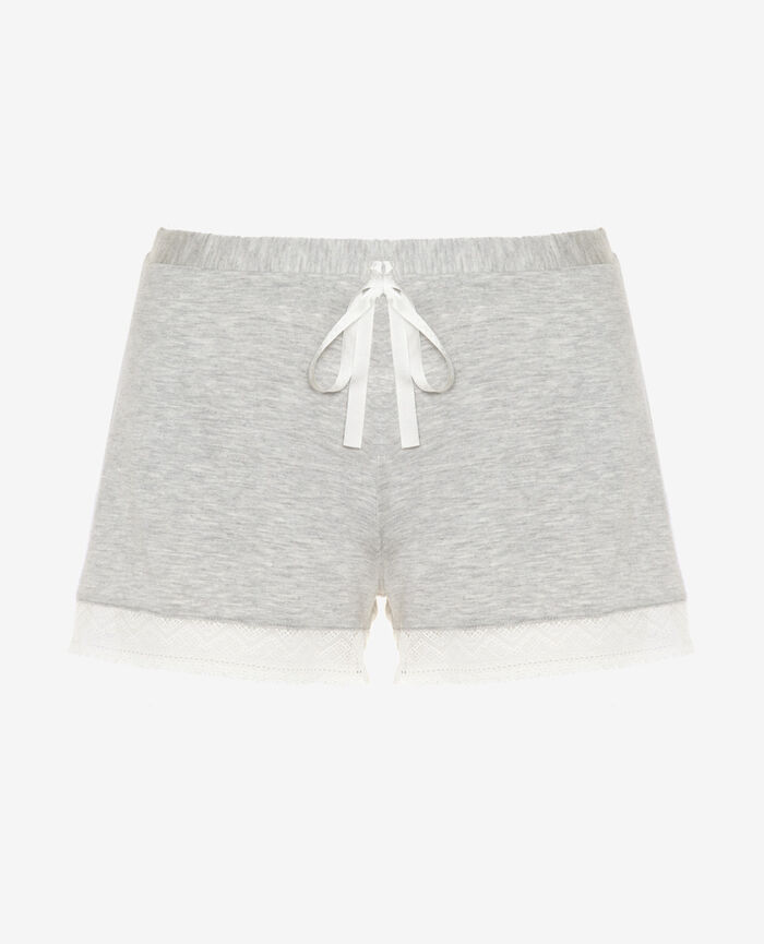 Boxer short Gris chiné Douceur