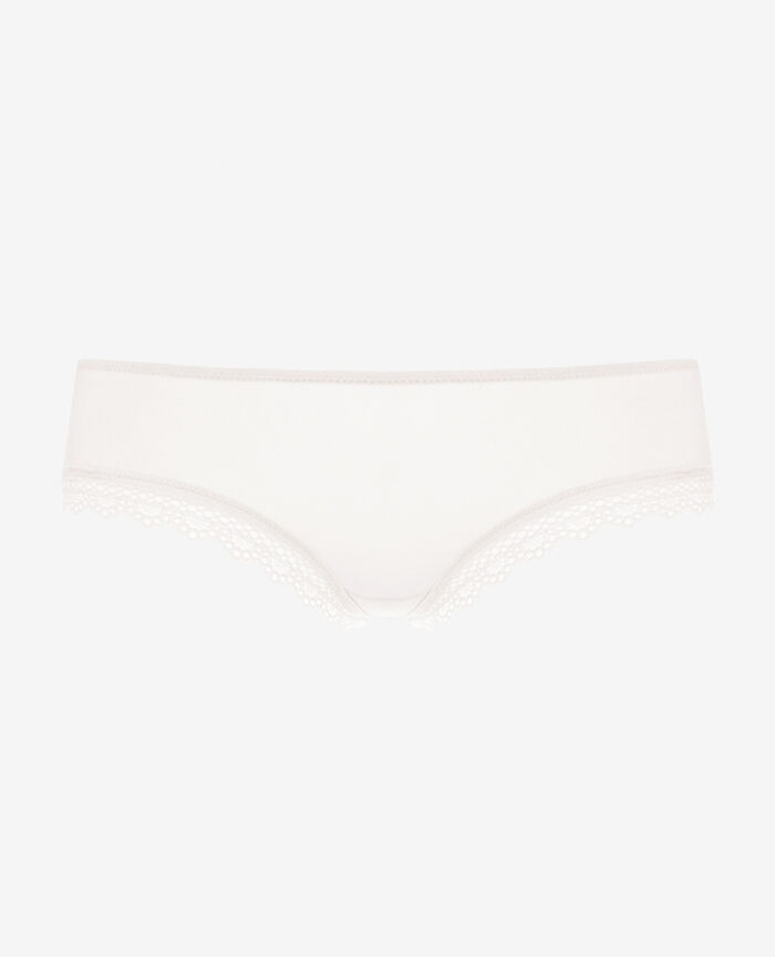 Brazilian briefs Blanc rosé Air lingerie