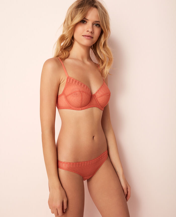 Underwired bra Terracota Serenade