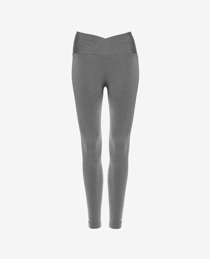 Sports leggings Flecked grey Yoga