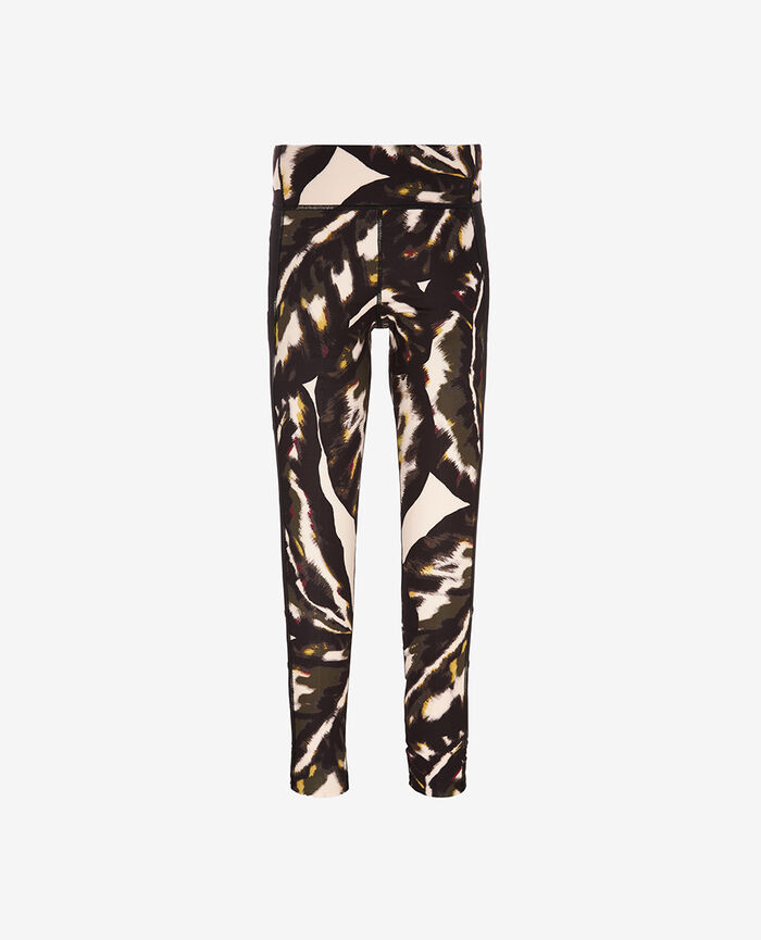 Long running legging Multicolored palm Run