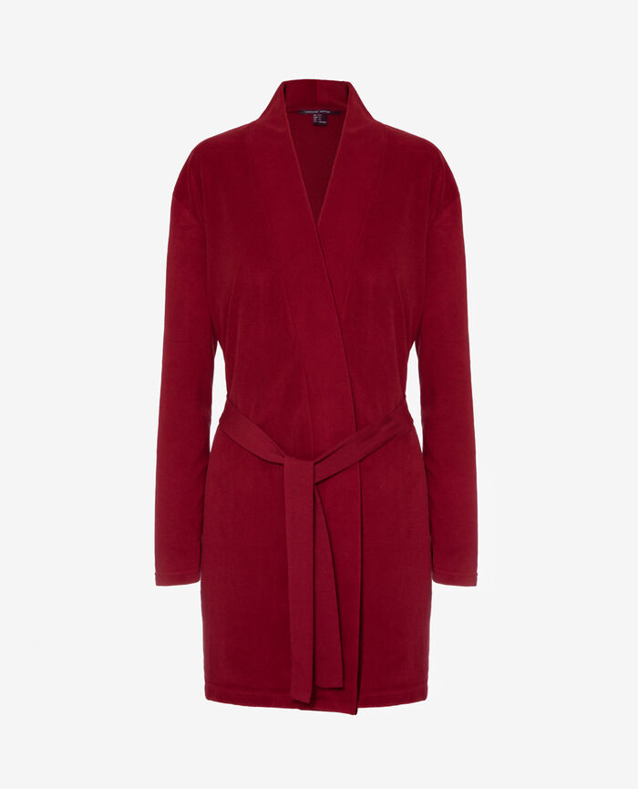 Bathrobe Leather red Igloo
