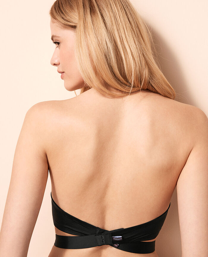 Nude back strap Black Make up