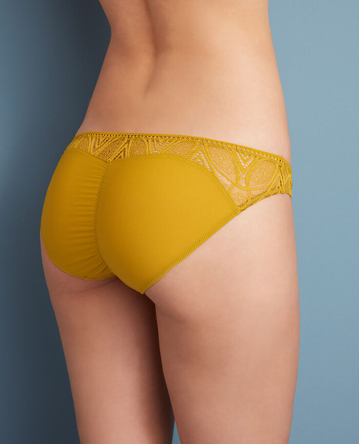 Hipster briefs Pickles yellow Boheme