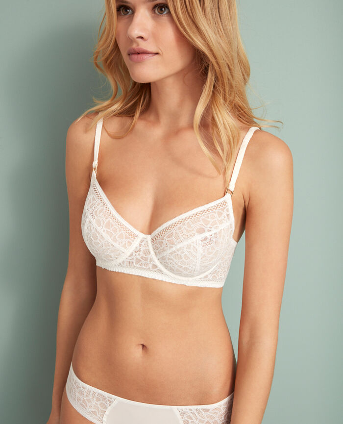 Underwired bra Rose white Manhattan