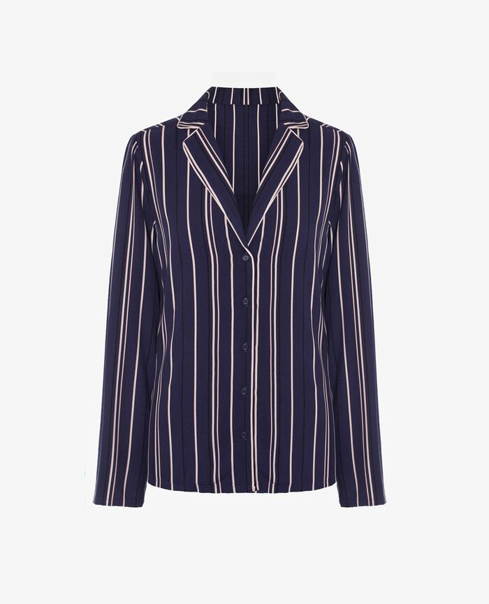 Jacket Blue stripes City
