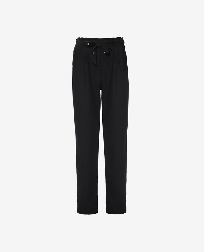 Pantalon carotte Noir Magic