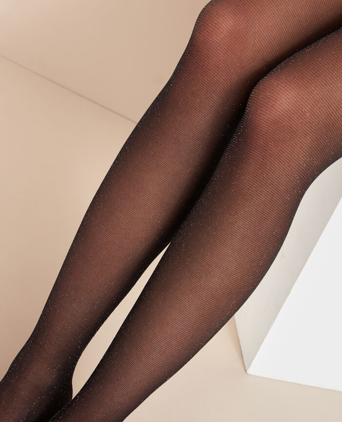 Collants Noir Deesse