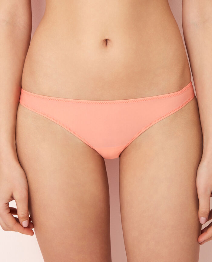 Culotte taille basse Pamplemousse rose Taylor