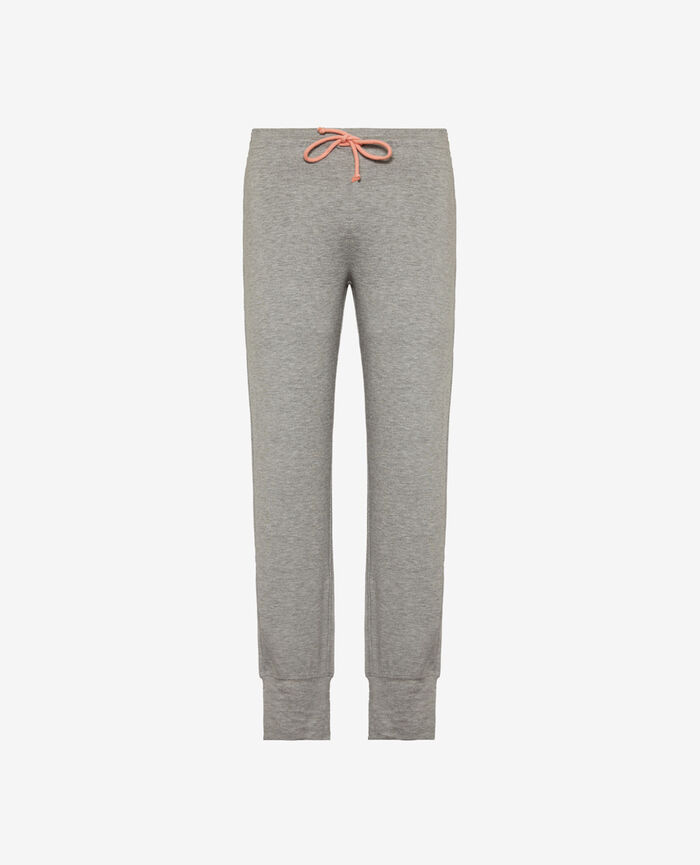 Sport trousers Gris chiné Yoga