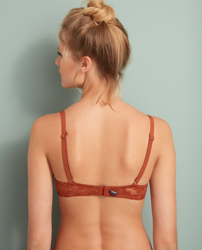 Soutien-gorge push-up mousses Ginger bread Angelina