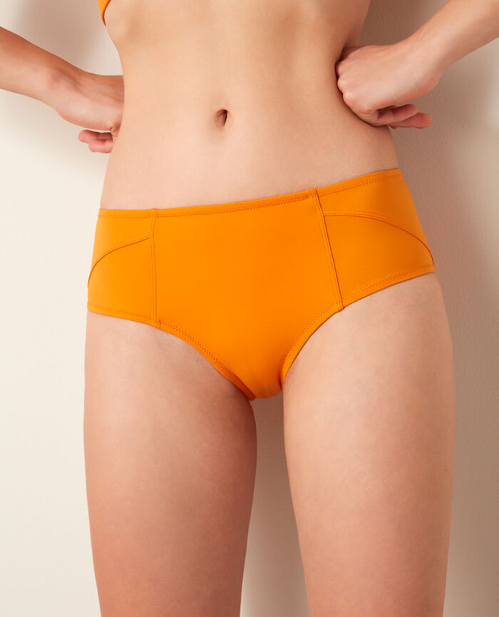 Sport bikini briefs Orange maya Aqua