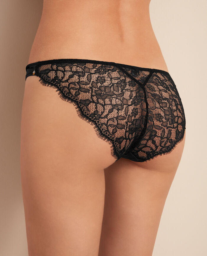 Culotte taille basse Nova noir Magic