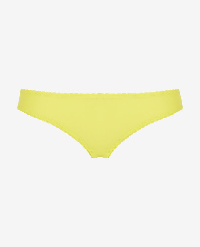 Culotte taille basse Jaune sunset Voodoo