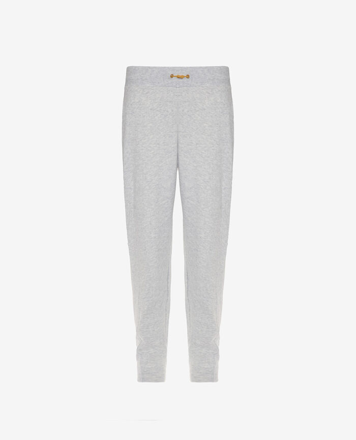 Sports trousers Flecked grey Yoga