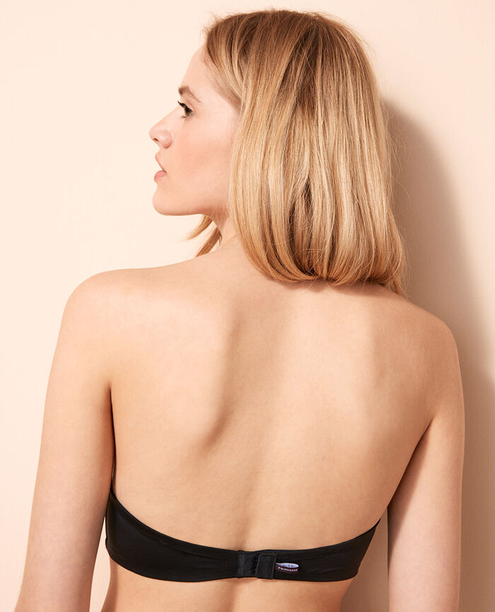 Contour strapless bra Black Make up
