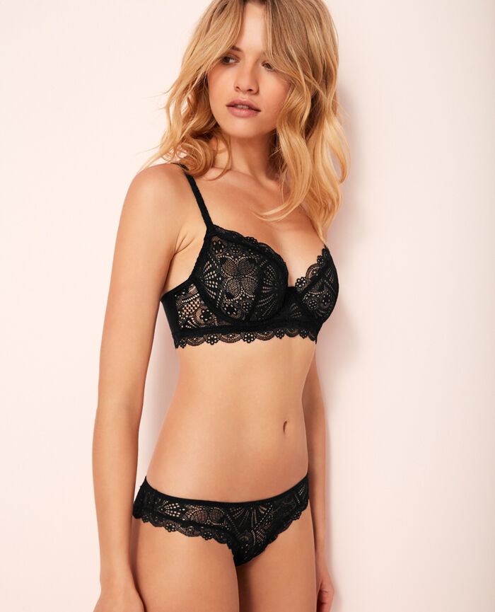 Bustier bra Black Love