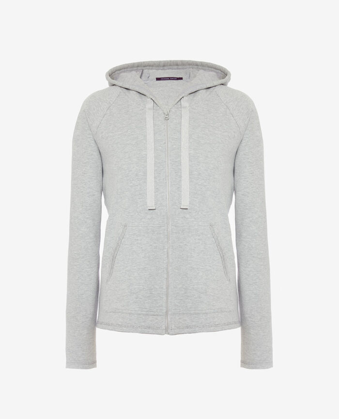 Sporty jacket Gris clair Moove