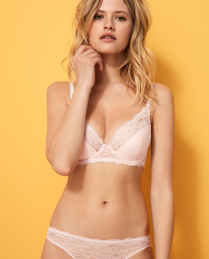 Demi push-up bra Pink Chantilly