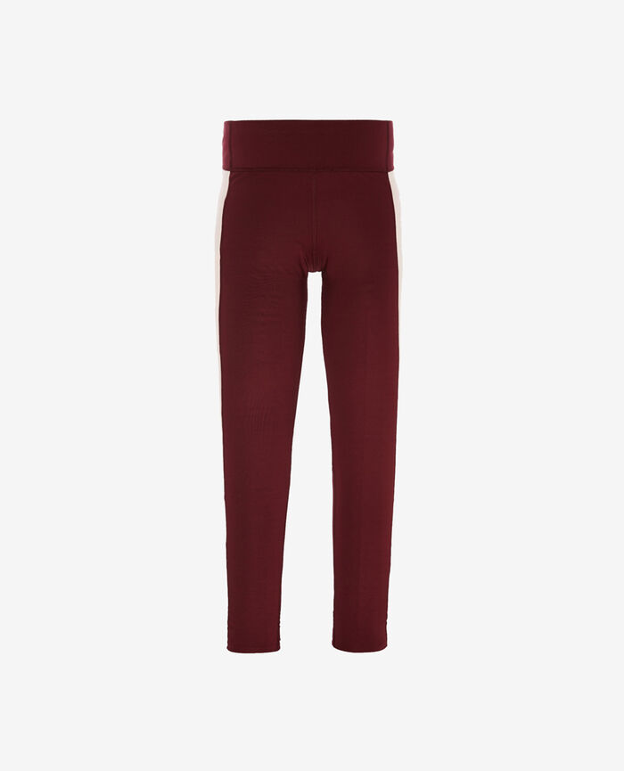 Long running legging Cassis red Run