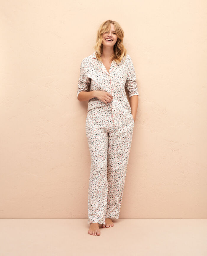 Pyjama set Ivory holly Princesse tam.tam x uniqlo