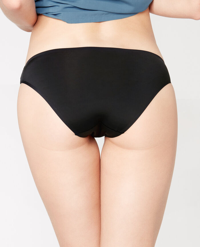 Culotte taille basse Noir Ghost