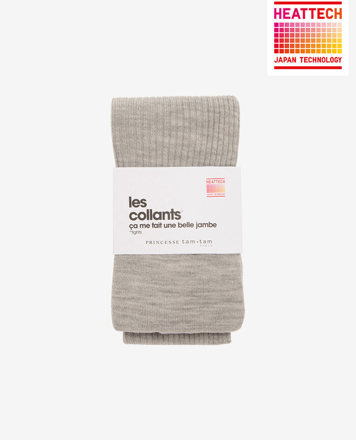 Collants Gris chiné Infinity