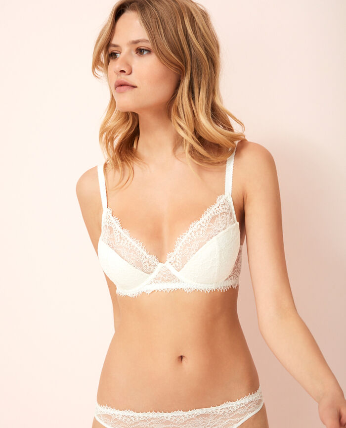 Demi push-up bra Ivory Chantilly