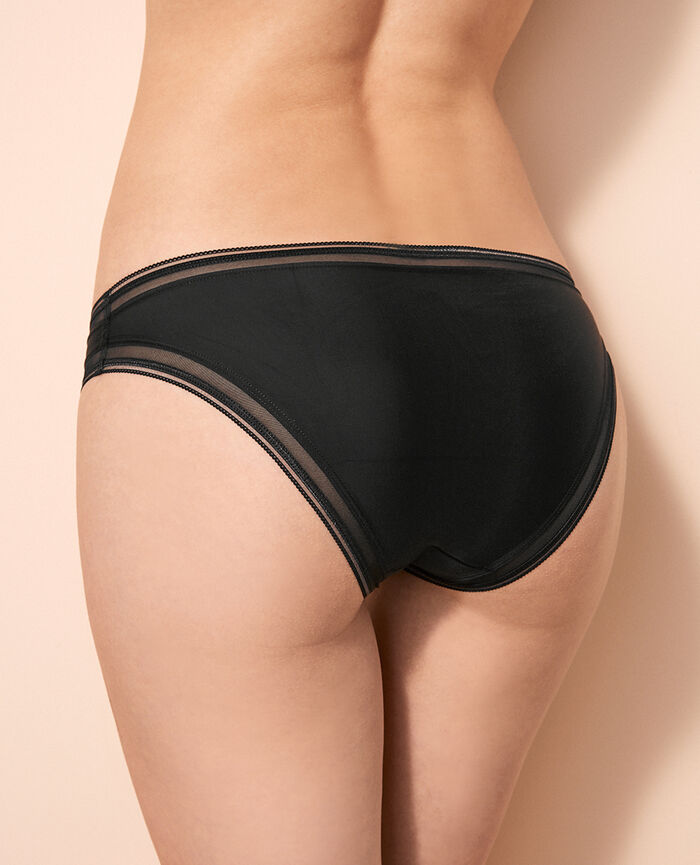 Hipster briefs Black Make up