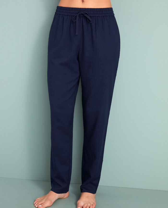 Carrot pants Navy Abysse
