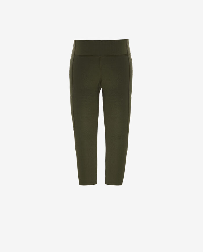 Short running legging Moss green Run