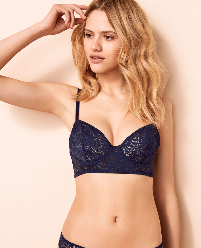 Bustier bra Denim blue Evasion