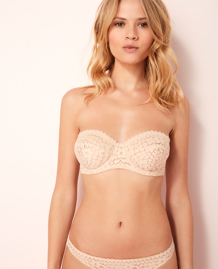 Strapless bra Powder Monica