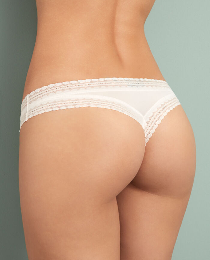 Tanga Rose white Beaute