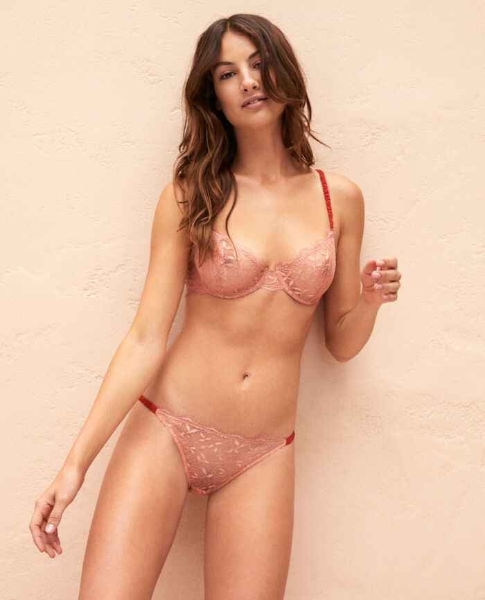Culotte taille basse Rose grenade Arty