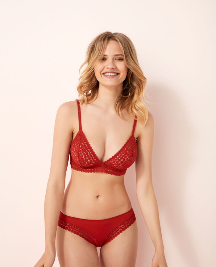 Hipster briefs Odalisque red Monica