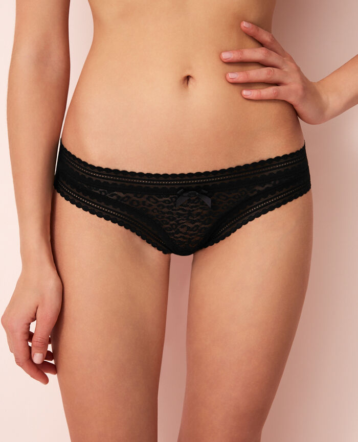 Brazilian briefs Noir Belle