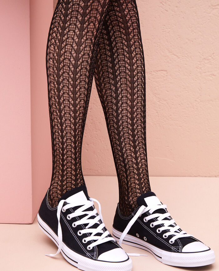 Fancy tights 100d Black Opera