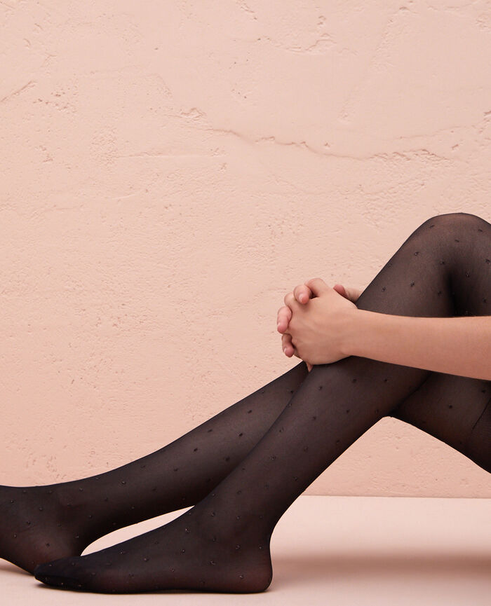 Fancy tights 40d Black Farandole