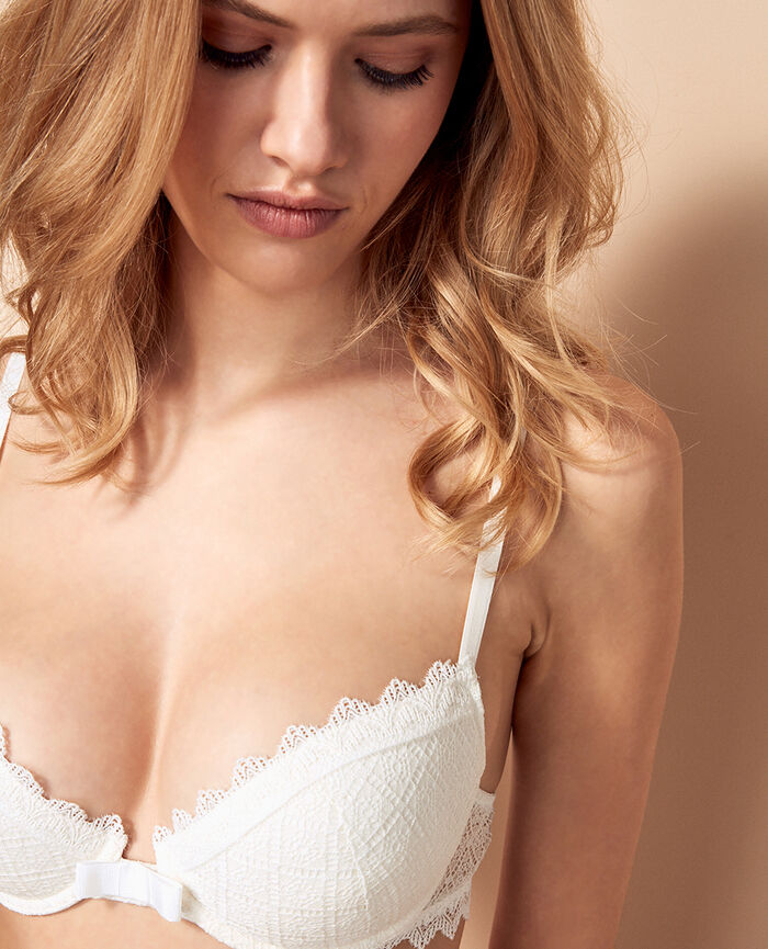 Soutien-gorge push-up mousses Ivoire Insolente