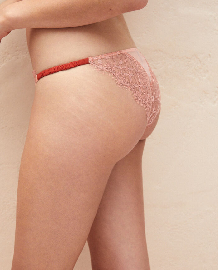 Hipster briefs Pink pomegranate Arty