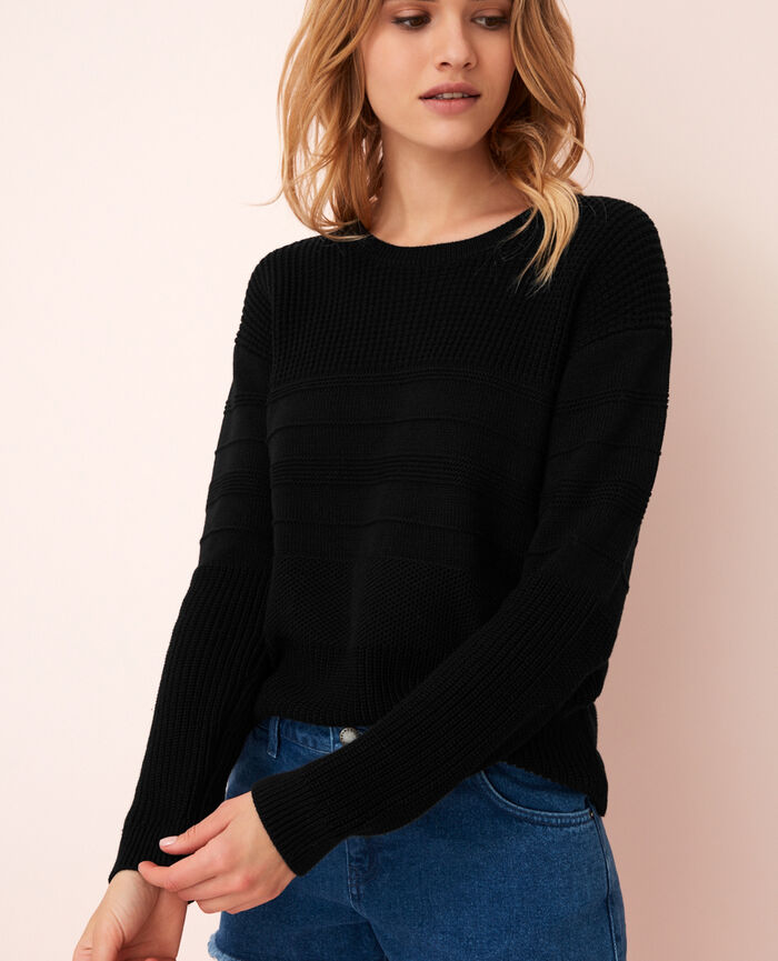 Jumper Black Cachou