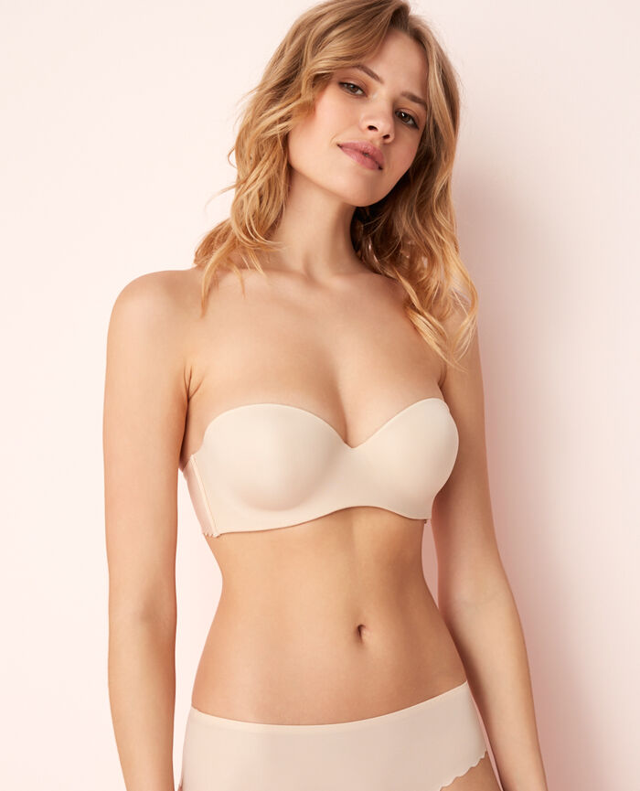 Contour strapless bra Powder Secret
