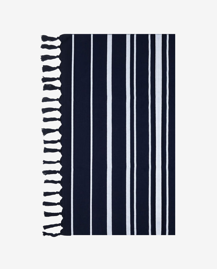 Bath towel Blue stripes Lisa