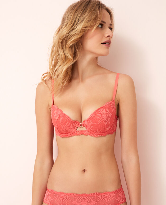 Padded push-up bra Coral Soleil