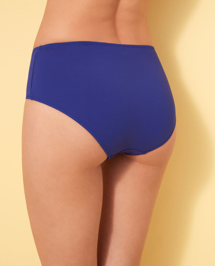 High-waisted briefs Mascara blue Impala