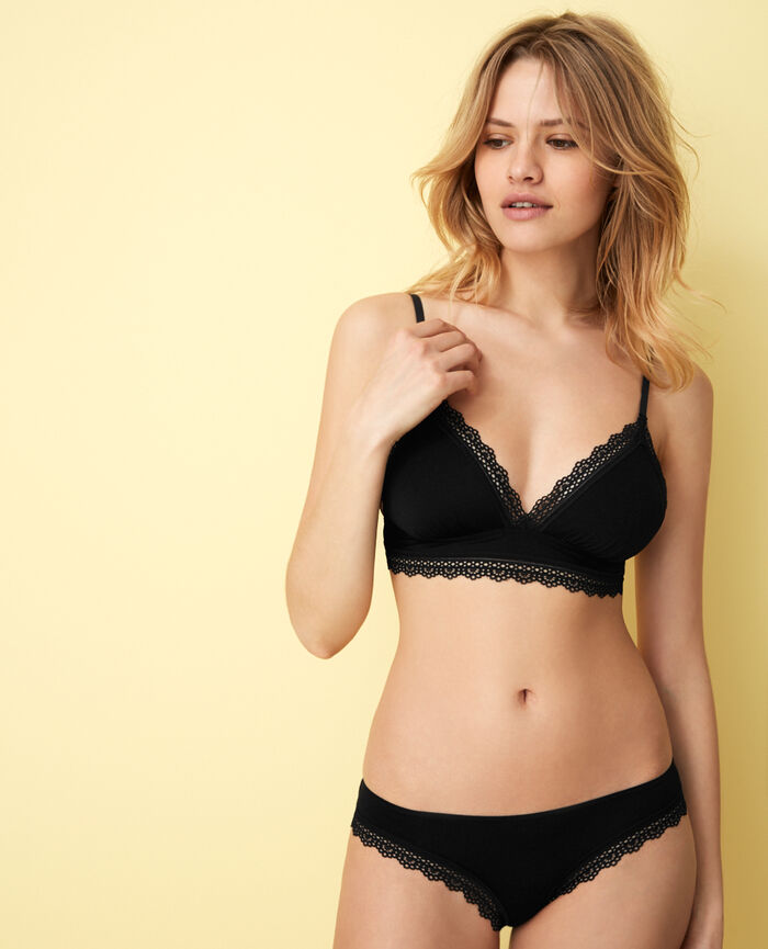 Hipster briefs Black Air lingerie