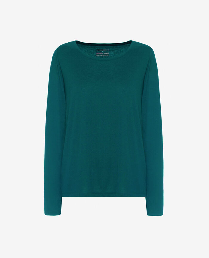 Long-sleeved t-shirt Mezcal green Latte