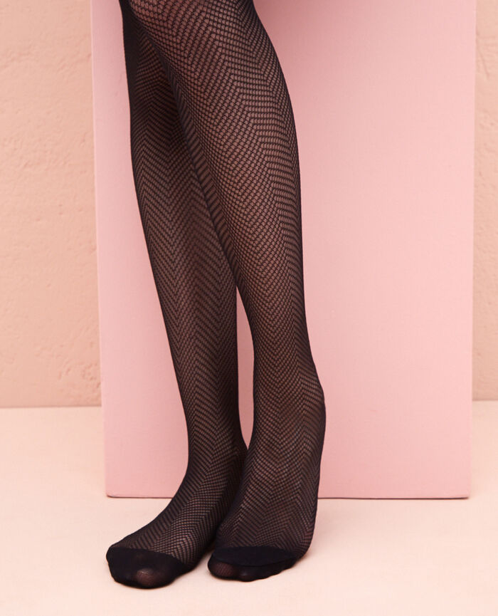 Fancy tights 60d Black Polka